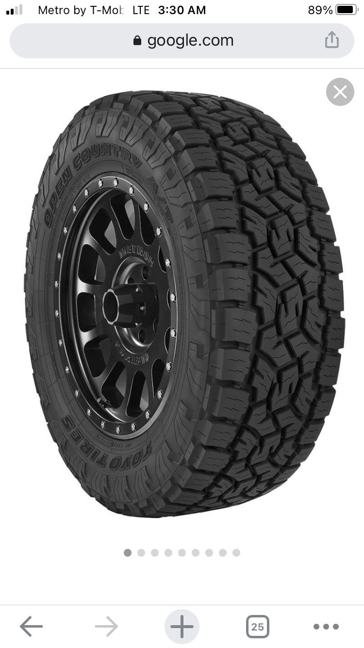 Photo Toyo Open Country AT3 31x10.5xR15LT