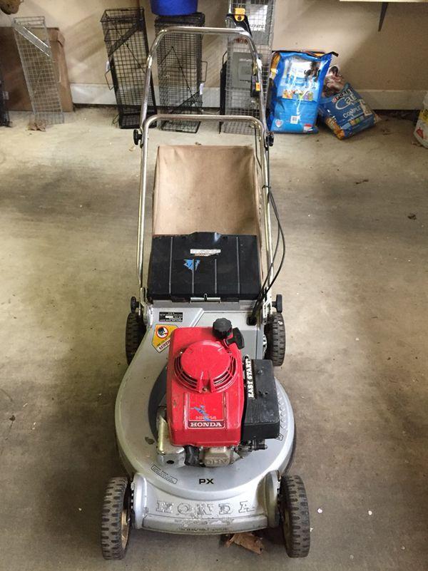Classic Honda push mower w/ bag (Home & Garden) in Hillsborough, NC ...