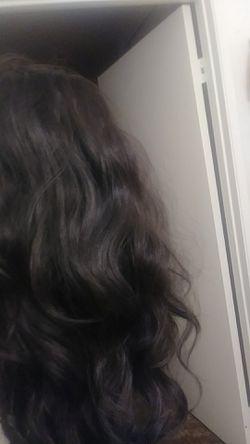 Human hair Thumbnail