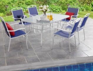 New Patio Set Outdoor Set Patio Furniture Table And 6 Chairs For Sale In Tempe Az Offerup