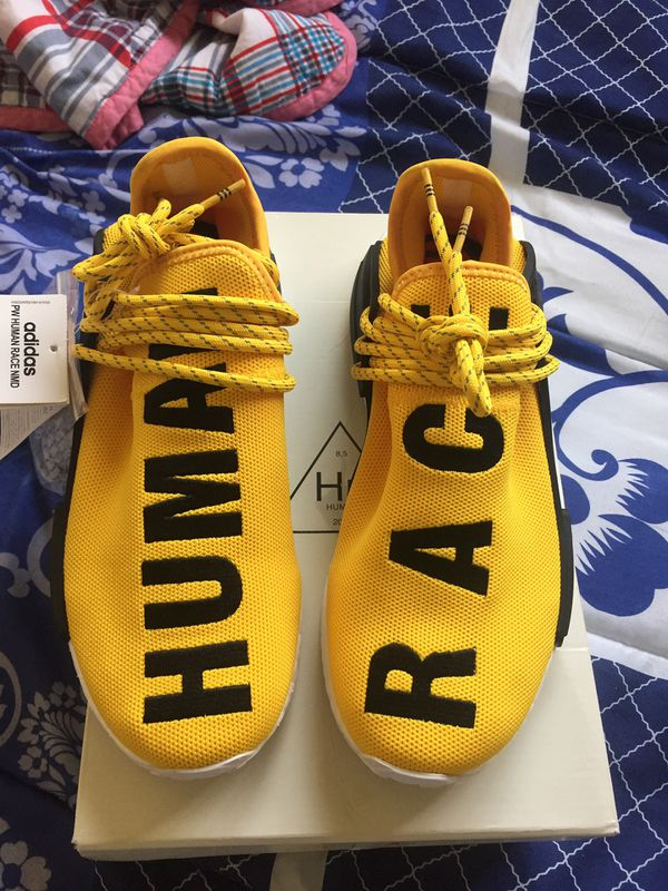 4bdb63405cf06 ADIDAS PW HUMAN RACE NMD PHARRELL Yellow for Sale in Maplewood