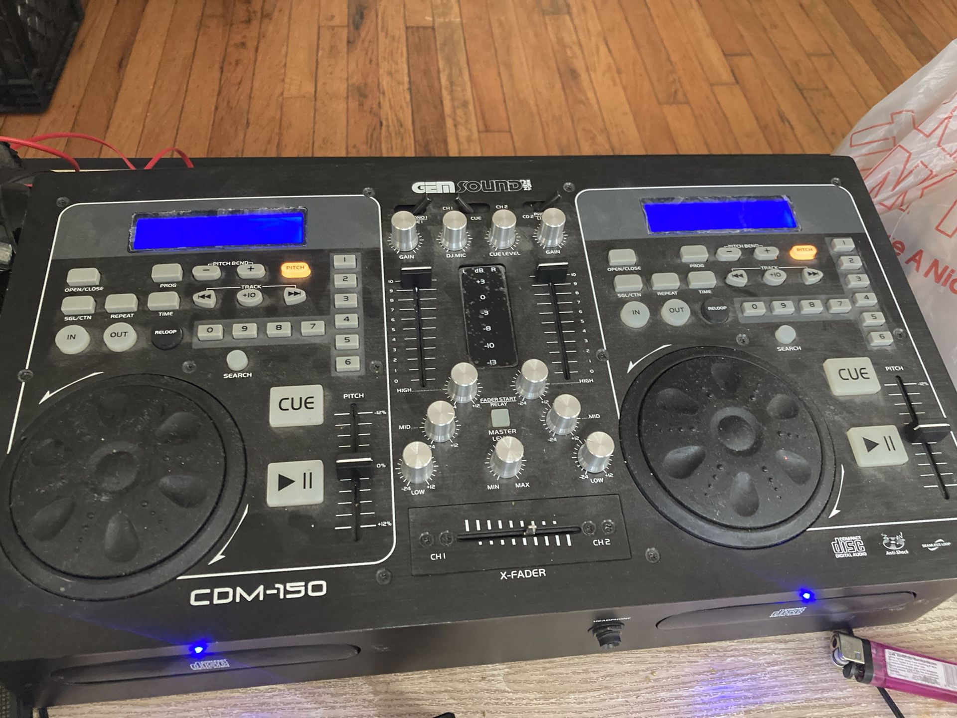 Gem Sound  Com-150 Dj Bord