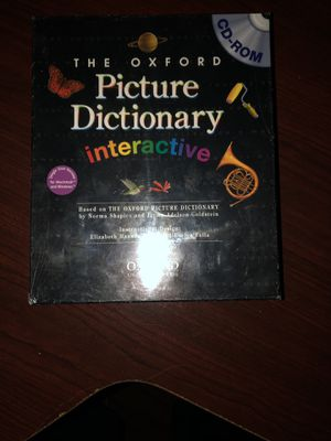 Oxford Interactive Picture Dictionary for Sale in Ashburn, VA