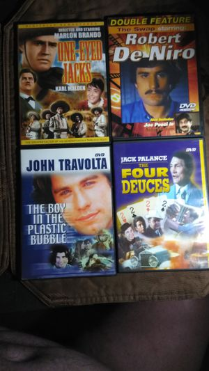 Hollywood Legends DVD collection: Brando, DeNiro, Travolta! for Sale in Las Vegas, NV