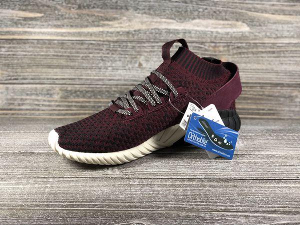 79d1d602f Adidas Originals Tubular Doom Sock Primeknit Maroon Shoes  CQ0944  Men s Sz  9.5