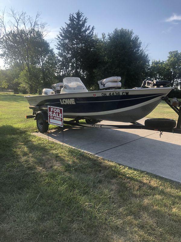 Lowe boat 40hp motor