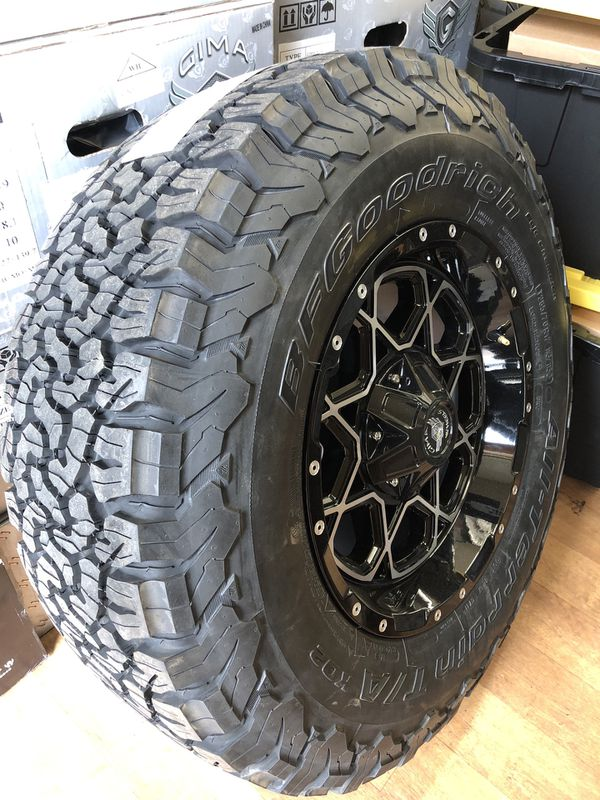 Dodge Ram 1500 Wheels And Tires Packages >> Dodge Ram Or Jeep Wrangler Wheels Set 285 70 17 With Bfg Ko2 All Terrain Tires Special Price On This Set For Sale In San Bernardino Ca Offerup