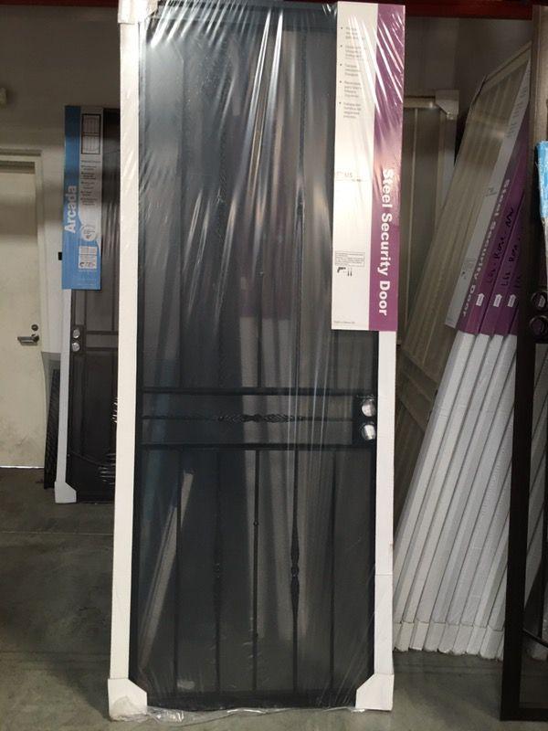36x96 security door