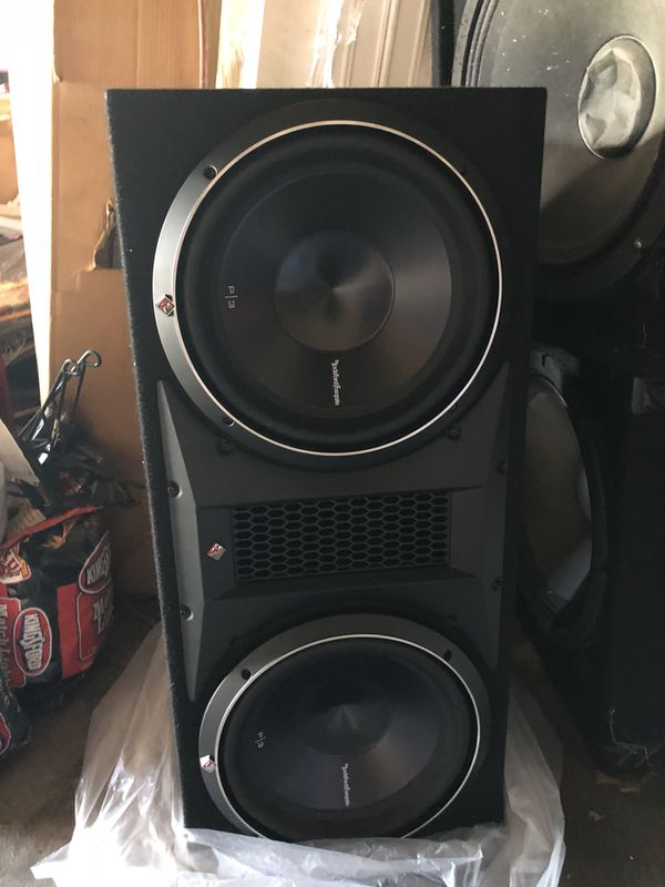 """Rockford Fosgate P3 2 12"""" subs for Sale in Queens, NY - OfferUp"""