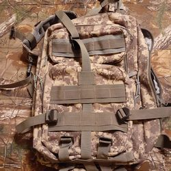 Camo Backpack/Book Bag Thumbnail