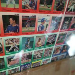 Baseball Uncut Sheet Many Available Years. Thumbnail