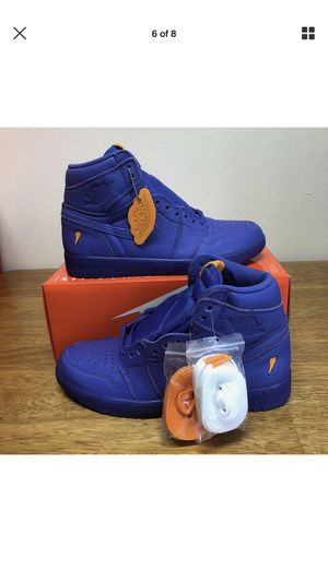 "fe43dd7e2c0a71 Air Jordan Retro 1 Gatorade ""Grape"" DS Size 11 for Sale in Queens"