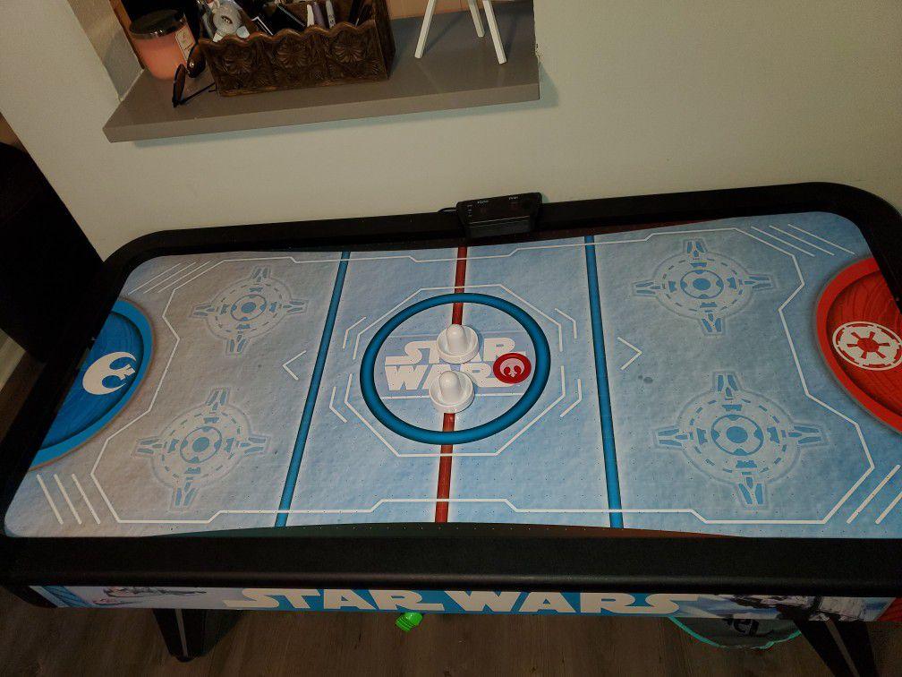 Air Hockey Table, Star Wars, Electronic Scoring