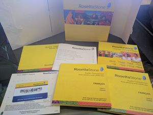 Rosetta Stone, French 1 & 2 for Sale in Portland, OR