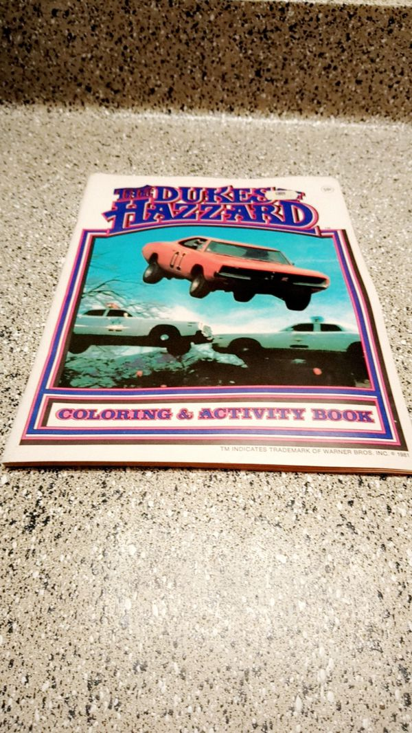 Dukes of Hazzard coloring books 2 lot (Collectibles) in Plano, TX ...