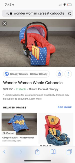 Wonder Woman Carseat Caboodle For Sale In Indianapolis IN
