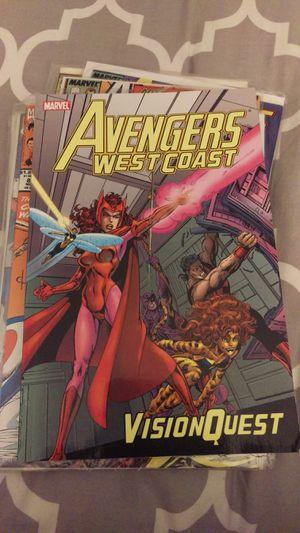 Avengers West Coast Vision Quest comic book for Sale in Chandler, AZ