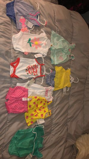 Cute newborn baby SUMMER clothes! for Sale in St. Louis, MO