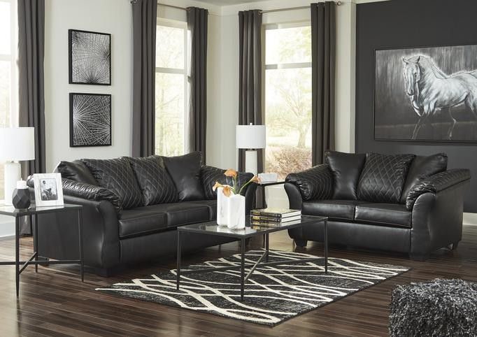 SPECIAL] Betrillo Black Living Room Set🤟Same Day Delivery