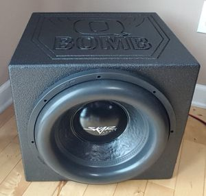 Photo Skar audio subs amps boxes speakers new