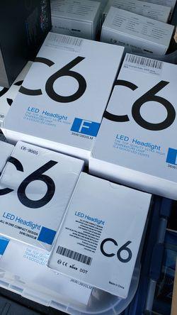 6000k LED headlights Bulbs Upgrade $20 All Cars, trucks and suv Thumbnail