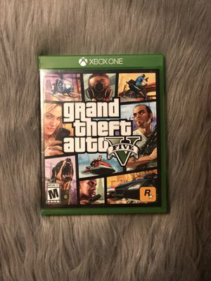 Grand Theft Auto Five for Xbox One for Sale in Denver, CO