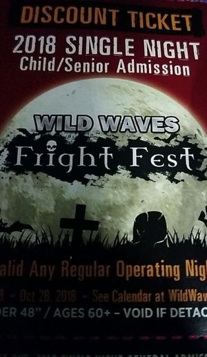 10 Freight Fest tickets for sale $20 a piece for Sale in Federal Way, WA