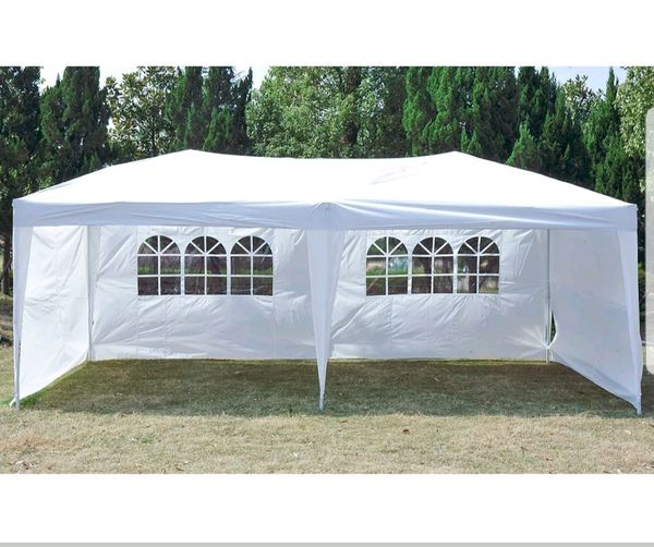 quality design 0a172 d8b8b Popup easy up party tent gazebo canopy 10x20 for Sale in Chicago, IL -  OfferUp