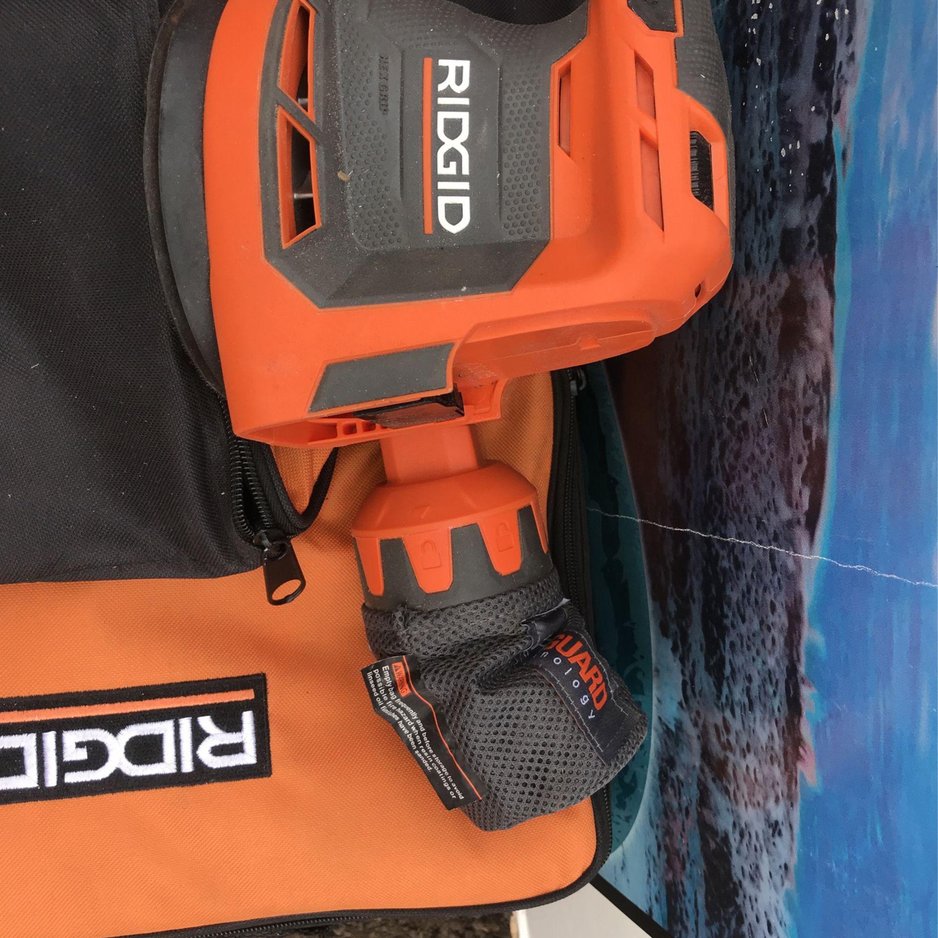 RIDGID 18-Volt Cordless 5 in. Random Orbit Sander Tool Only
