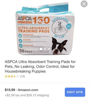 Puppy training pads for Sale in Richmond, VA