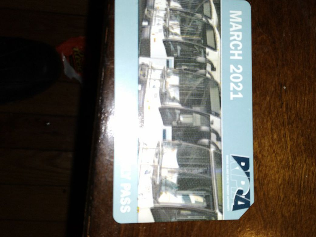Ripta Monthly Bus Pass For March