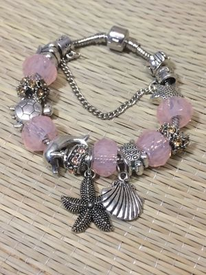 The best Christmas gifts for her. Pandora-like Europan charms bracelet 925 Sterlin silver plated for Sale in Bronx, NY