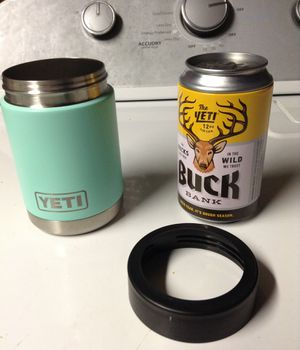 Yeti cuzi with coin bank for Sale in Alexandria, VA