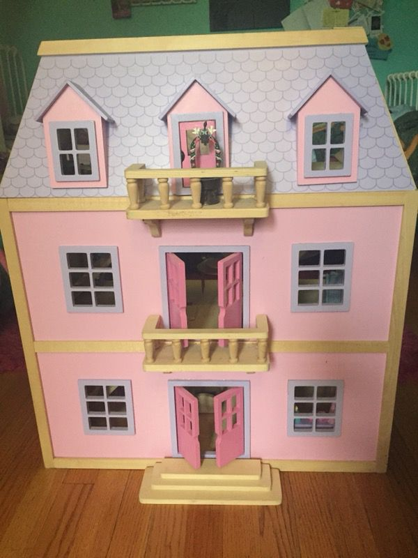 Melissa Doug Multi Level Dollhouse For Sale In Brooklyn Ny Offerup