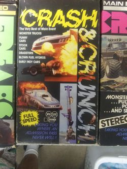 COLLECTION VHS TRACK FREAKS Thumbnail