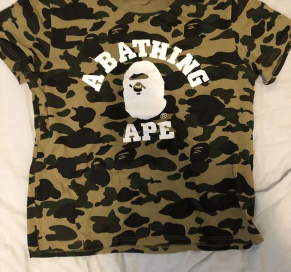 ab10d37ff Selling Bape Authentic Bape shirt with tag (NO BAG) Trades Accepted for  Sale in Fremont, CA - OfferUp
