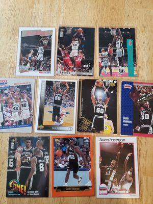 Photo David Robinson San Antonio Spurs NBA basketball cards