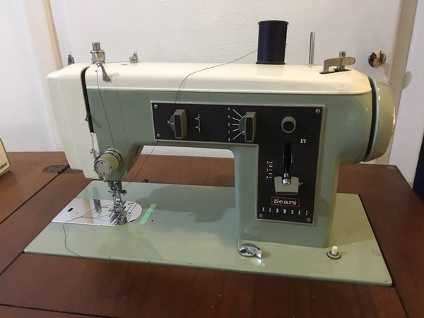 Vintage Sears Kenmore Zig Zag Model 40 Sewing Machine For Sale In Mesmerizing Sears Kenmore 2142 Sewing Machine