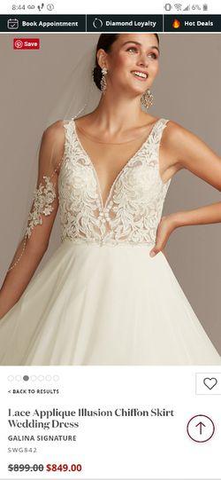 Brand new Wedding dress Size 14 Ivory Thumbnail