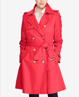 Women / Coats Lauren Ralph Lauren Double-Breasted Trench Coat - size M for Sale in Washington, DC