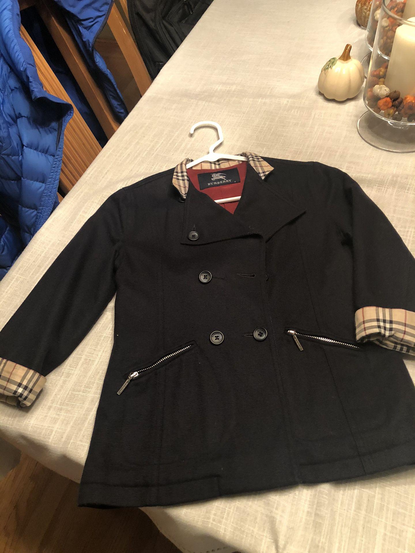 Boys Burberry sports coat