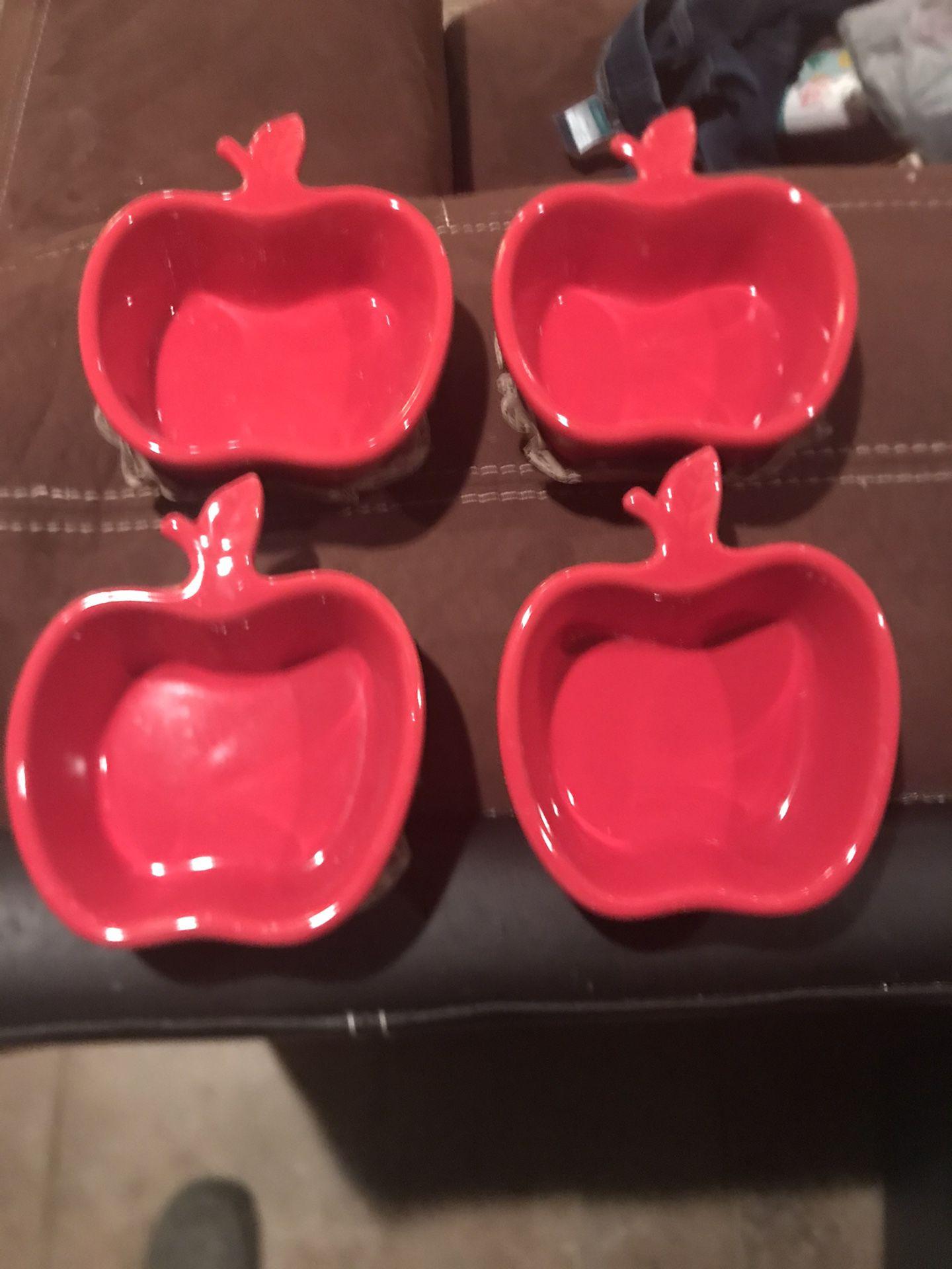 Apple Shaped Ramekins