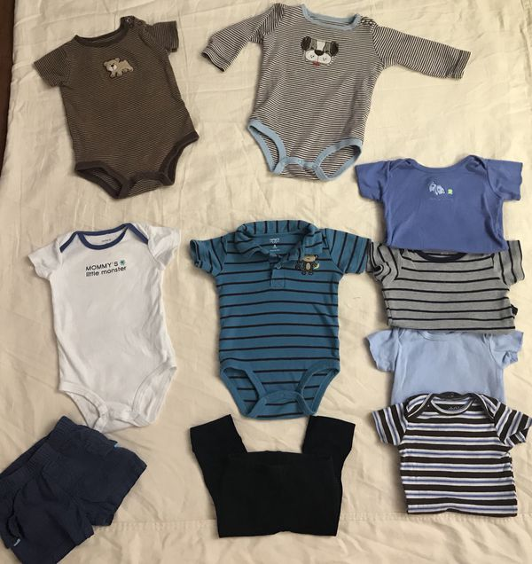 cba1b2609 3-6 month baby boy clothes for Sale in Hemet