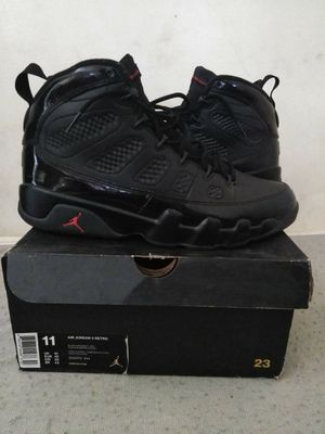 air jordan bred retro 9 size 11 for sale in los angeles ca