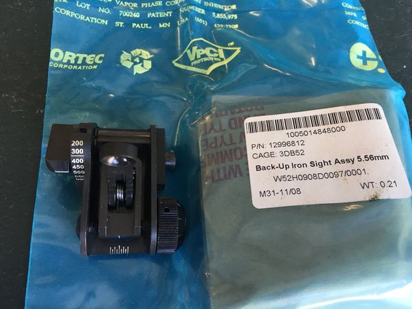 MaTech Mil-Spec Back-up Iron Sight for Sale in Chino, CA - OfferUp