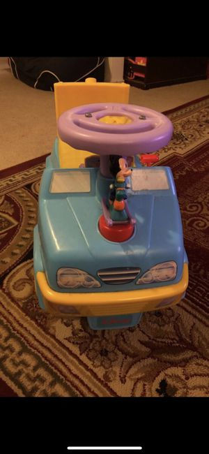 Mickey Mouse ride toy for Sale in Fairfax, VA