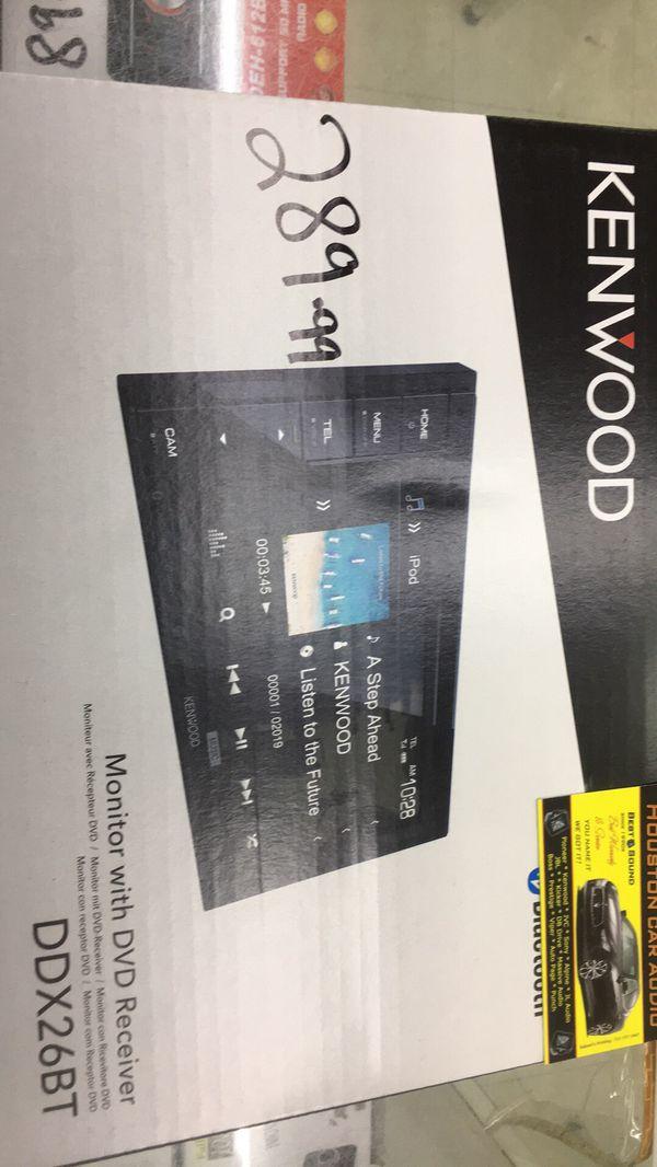 Kenwood ddx26bt sale!!!!!!!! for Sale in Houston, TX - OfferUp