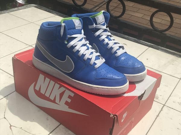 cheap for discount 9a948 d6701 Nike Backboard II Mid Men s size 9 SAMPLE Basketball Signal Blue 487656-400