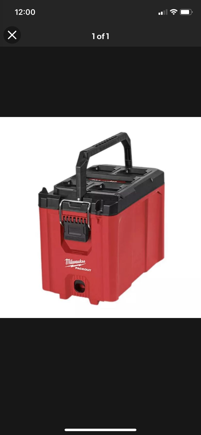 Milwakee Packout Tool Box