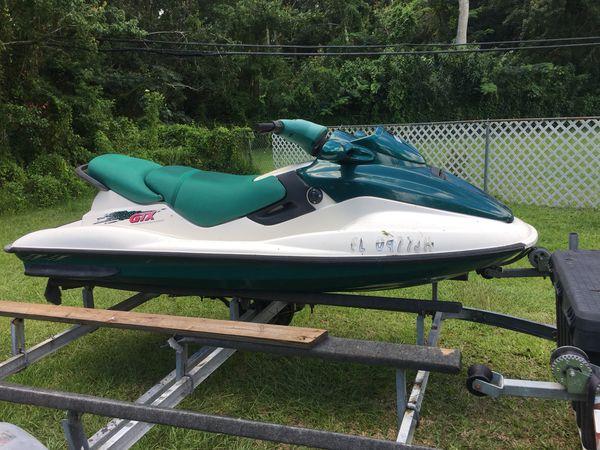 1997 Seadoo Gtx >> Seadoo Gtx 1997 With Double Trailer Sea Doo For Sale In Orlando Fl Offerup